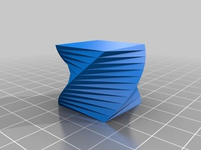 Rotated shape