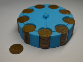 Gyroman - AU 1c Coin Compatible Flywheel
