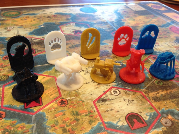 Scythe Board Game Fan-Designed Models by bobpony - Thingiverse
