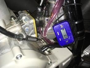Motocross hour meter bracket