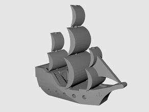 """""""Big"""" Pirate Ship (no base)"""