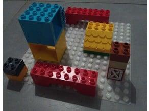 Duplo compatible build plate 16x16