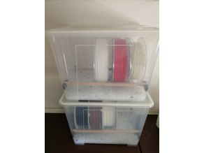 Dual rod holder for samla drybox