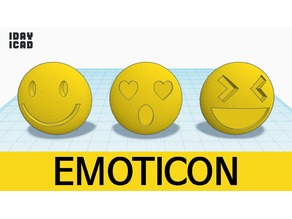 [1DAY_1CAD] EMOTICON