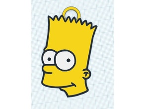 Bart Simpson necklace