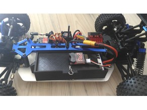 LIPO Battery Box Himoto - HSP - Redcat