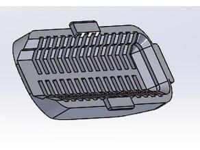 (Gel ball) HK416-V2, Ventilated Grip