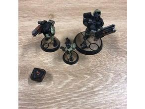 Warhammer - Tau Base Toppers