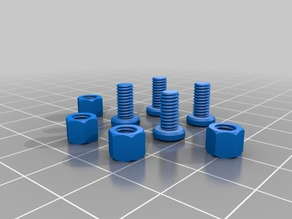 SMARS - Stepper Variant - Stepper Mounting Screws and Nuts