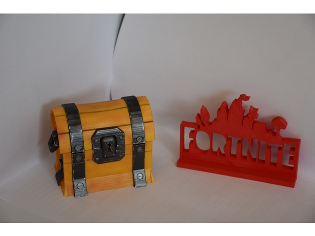 Thingiverse Fortnite Chest Makes Of Fortnite Chest By Atreyou Thingiverse