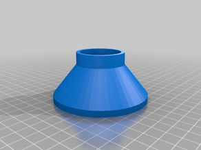 Aluminum Bottle Funnel Larger