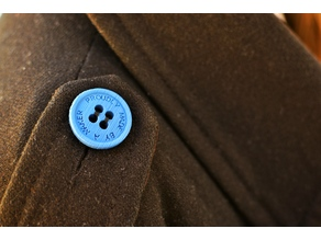 Button : Proudly made by a Maker -30 and 26 mm
