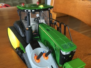 John Deere 8360RT static to RC V1 - V5
