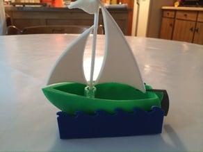 Skyblue's Sailboat with mod.