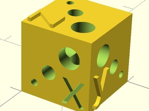 Test Cube for calibration