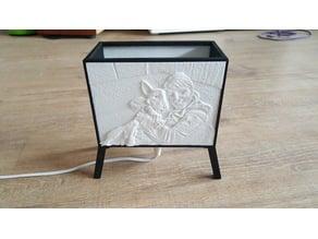Lithophane Lamp Frame)