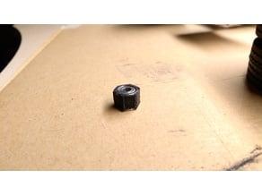 12mm Wheel Hex bearing adapter and center cap