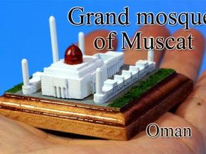 Sultan Qaboos Mosque -oman-
