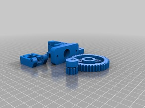 Compact general purpose extruder