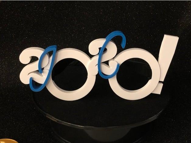 Joco Cruise 2020.2020 Glasses For Jococruise 10 By Bird2brain Thingiverse