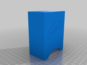 Uno Card Deck Case