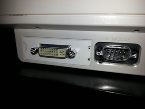 Amiga 1200 DVI Expansion Bracket