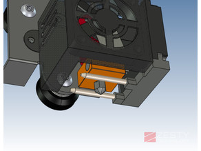 Tusk Part cooling fan for CR-10
