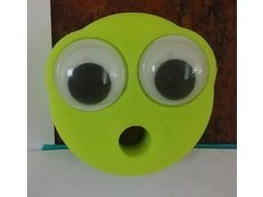Emoji Magnet - BIG Googly Eye Circle Mouth