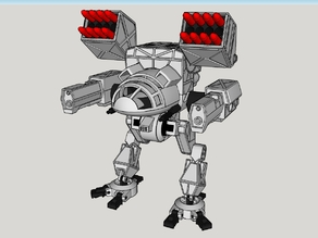 Mad Cat MKII BattleMech with Support