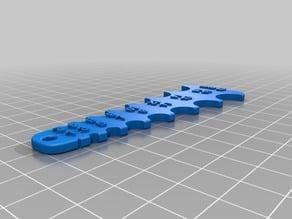 Fillet Gauge MK3 1-16mm