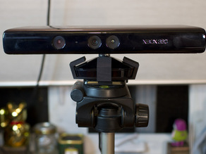 Tripod adapter for Kinect