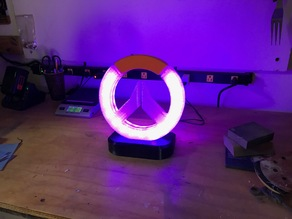 Overwatch Logo Stand, LED Edition