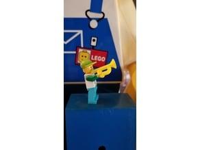 Lego Minifig Trumpet