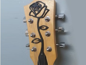 Guitar Rose Headpiece
