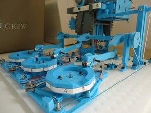 The Turbo Entabulator - a 3D-printable, fully mechanical computer
