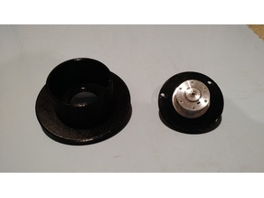 Filament Spool HDD Bearing Adaptor - Remix