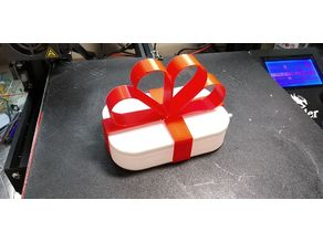 My Customized Customized Gift Box with Ribbon for Vase mode