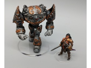 Dwarven Steam Golem (Remix) - 28mm Gaming