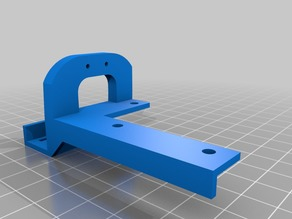 """Support Frame 2 with Bow for Z END Stop for """"Anet a8 Cable chain from kidamadmax"""""""