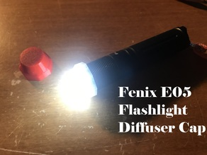 Fenix E05 Flashlight Diffuser Cap