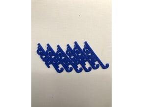 Field Hockey Stick Keychain Charm