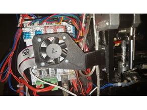 geeetech prusa pro b pcb main board fan holder