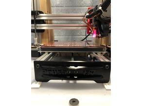 "Makerfarm Prusa i3v 8"" Y Axis Belt Plate"