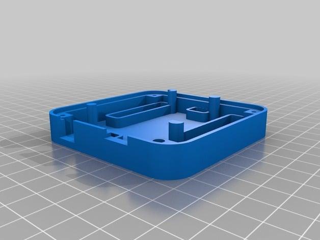 D printed case for arduino uno leonardo by zygmuntw