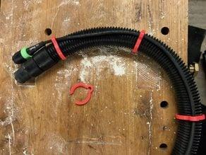 Cable clip for Festool / Starmix shop vac hose 35mm