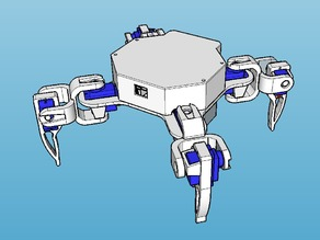 Quadruped Robot Model 1