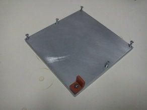 Heated Build Platform in 6mm Al