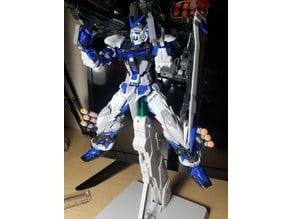 Gundam 1/100 Astray blue frame base adapter