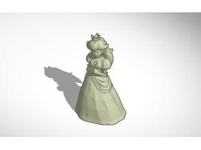 Princess Peach Statue