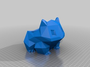Bulbasaur (Printable with no Infill)